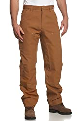Carhartt Men's Double Front Duck Utility Work Dungaree B01