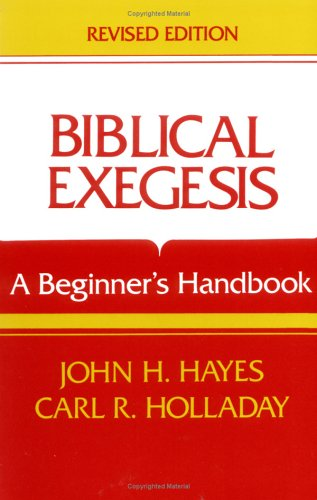Biblical Exegesis, Revised Edition