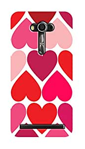 SWAG my CASE PRINTED BACK COVER FOR ASUS ZENFONE 2 LASER 5.5 Multicolor