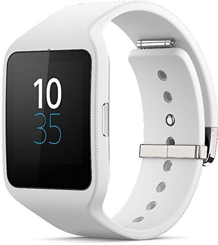 Sony Mobile SonyR SmartWatch 3 SWR50 Powered by Android Wear (White) by Sony Mobile [並行輸入品]