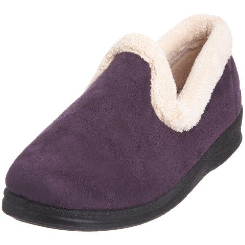Padders Repose, Pantofole donna, Viola (Flieder), 38 EU / 5 UK