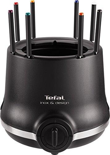 Tefal EF256812 Appareil à Fondue Thermoprotect Inox & Design