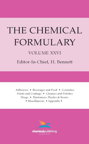 The Chemical Formulary: Collection of Commercial Formulas for Making Thousands of Products in Many Fields, Vol. 26