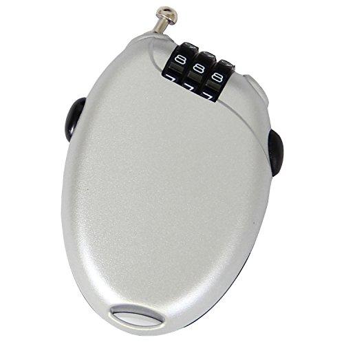 VAXPOT(バックスポット) ケーブルロック 【ケーブル長約70cm /ダイアルロック式】 SLV VA-2830