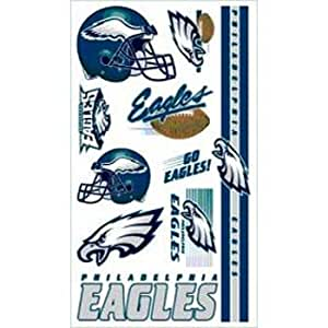 wincraft philadelphia eagles temporary tattoos sports