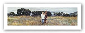 Old Friends by Steve Hanks . Art PRINT Poster 36.00 X 12.00