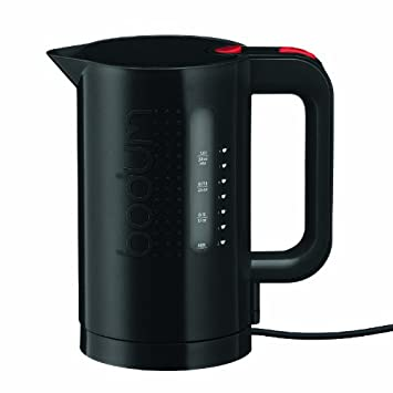 Bodum 11452-01US 34-Ounce Electric Water Kettle, Black