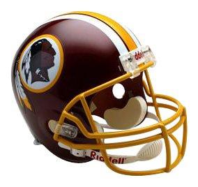 NFL Washington Redskins Deluxe Replica Football Helmet by Riddell