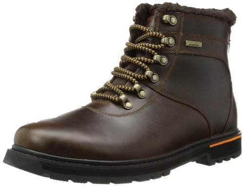 Rockport Mens TRLBRKR ALPINE WP Snow Boots Brown Braun (DK BROWN) Size: 9 (43 EU)