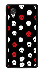 "Humor Gang Cute Ghosts Printed Designer Mobile Back Cover For ""Lg Google Nexus 5"" (3D, Glossy, Premium Quality Snap On Case)"