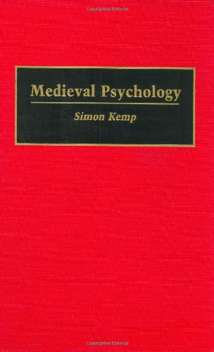 Medieval Psychology: (Contributions in Psychology)
