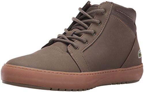 Lacoste Women's Ampthill Chukka 316 2 Spw Dk Grn Fashion Sneaker, Dark Green, 8.5 M US