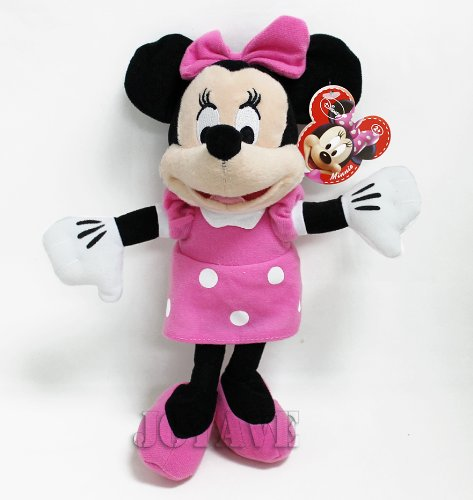 "Disney Mickey Mouse Clubhouse - Minnie Mouse 10"" Plush Doll - 1"
