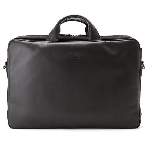 青木鞄(GAZA) 本革×ナイロン ビジネスバッグ B4対応 日本製 [LOAM No.6123]