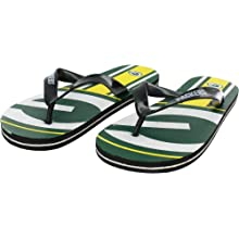 Green Bay Packers Kids' Unisex Big Logo Flip Flop Sandals