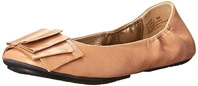 Me Too Women's Lilyana Ballet Flat,Driftwood,5.5 M US