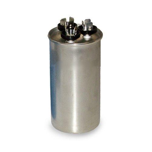 Motor Dual Run Capacitor Round 45 + 5 uf MFD 440 Volt VAC 12788 by Mars