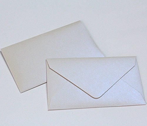 Wedding Favor Envelopes Metallic Pearl Mini Envelopes $1 State Lottery Tickets Gift Cards~ Qty 25 My Scratch Offs, LLC