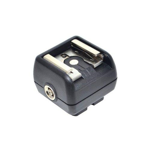 Sabot hot shoe de synchro pour flash Canon, Nikon, Pentax, Olympus