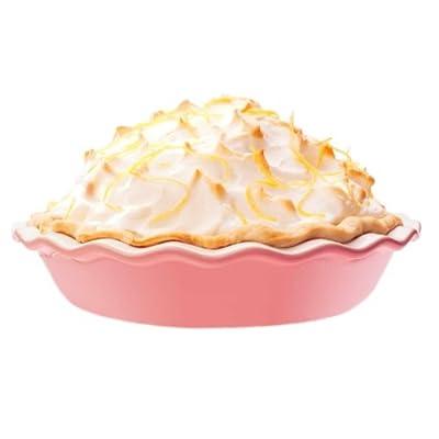 pink pie dish