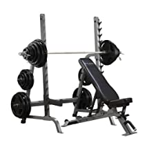 Body-Solid Commercial Bench / Squat Rack Combo Package