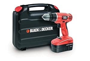 Black & Decker EPC18CAK 18V NiCd Cordless Drill/Driver in Kitbox