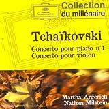 Tchaikovsky : Concerto pour piano n� 1 op. 23 - Concerto pour violon op. 35par Charles Dutoit