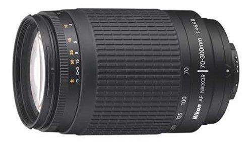 Nikon AF 70-300/4.0-5.6 G Black Nikkor Lens (not