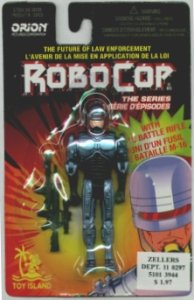 Robocop the Series Robocop with M-16 Battle Rifle Action Figure