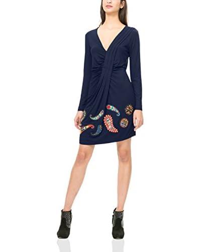 Desigual Kleid blau