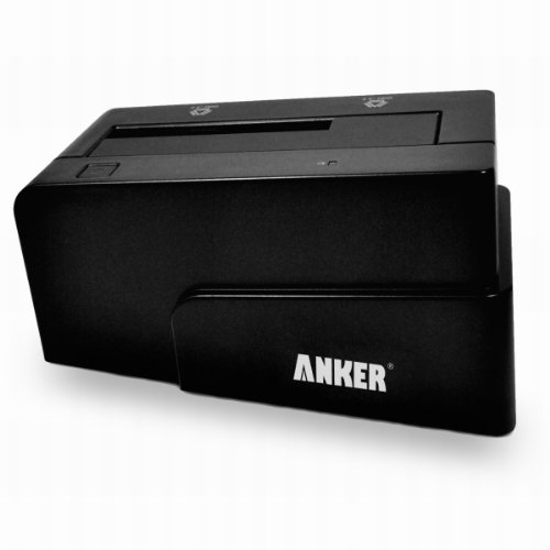 Anker USB 3.0 and eSATA To SATA External Hard Drive Docking Station for 2.5 / 3.5in HDD and SSD
