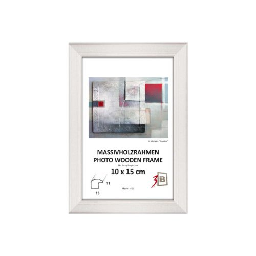 cadres cadre drw a blanc 30x40 cm cadre en bois cadre photo. Black Bedroom Furniture Sets. Home Design Ideas