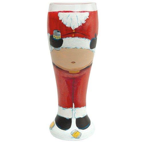 Santa Barbara Design Studio Pil-5521S Lolita Gotta Love Beer Pilsner Glass, Santa'S Beer Belly