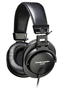 Audio-Technica ATH-M35 Closed-Back Dynamic Stereo Monitor Headphones