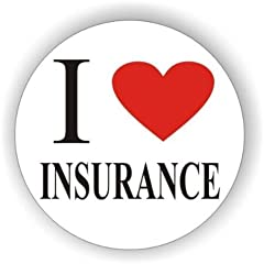 I (Heart) Insurance Halloween Badge