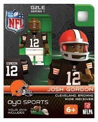 Josh Gordon OYO NFL Cleveland Browns G2 Series 1 Mini Figure Limited Edition