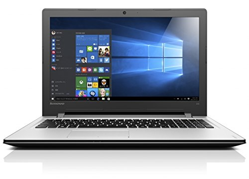 【KINGSOFT Officeセット】Lenovo ideapad300 80M300GUJP Windows10 Home 64bit Celeron Dual-Core 1.6GHz 4GB 500GB DVDスーパーマルチ 無線LANac/a/b/g/n webカメラ USB3.0 HDMI 15.6型液晶ノートパソコン