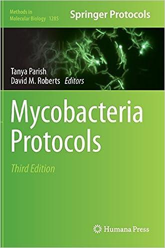 Mycobacteria Protocols (Methods in Molecular Biology)