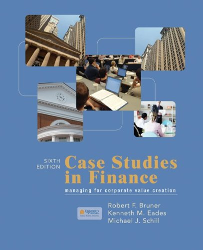 Case Studies in Finance