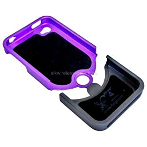 iFrogz Luxe Original Case for iPhone 4 - Purple/Black