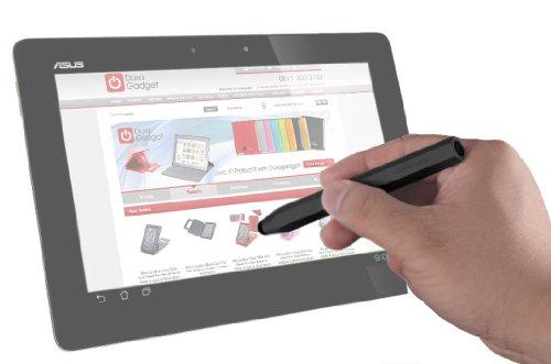 DURAGADGET 新ASUS Fonepad ME371-GY08 グレー Android 4.1.2 インテル Atom プロセッサー Z2420 eMMC8GB メインメモリ1GB モバイル通信対応 SIM フリー ME371-GY08 タブレット用専用 タッチスクリーン 容量式タッチペン 黒