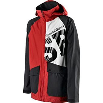 Mens Beacon Jacket - S - MARKUP RED