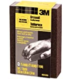 3M 9093DCNA Small Area Drywall Sanding Sponge, 3.75 in by 2.625 in by 1 in, Fine/Medium