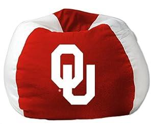 College NCAA Bean Bag Chair NCAA Team: Oklahoma by Northwest Enterprises