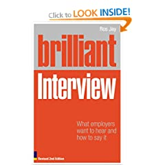Image: Cover of Brilliant Interview: What Employers Want to Hear and How to Say It