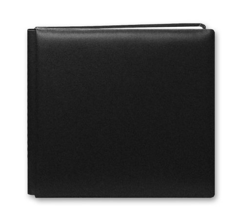 Pioneer 12 Inch by 12 Inch Postbound Leather Family Treasures Memory Book, Black сабвуфер pioneer ts w106m 250вт 1100вт 4ом