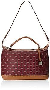 Tommy Hilfiger Monogram Coated Logo 6925359 Duffle Bag,Red Multi,One Size