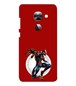 EPICCASE Amazing Spiderman Mobile Back Case Cover For LeEco Le Max2 (Designer Case)
