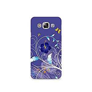 TAZindia Printed Hard Back Case Mobile Cover For Samsung Galaxy E7