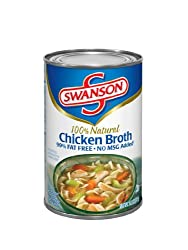 Swanson Chicken Broth, 14-Ounce Cans (Pack of 24)